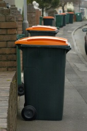 Image of an garden waste bin