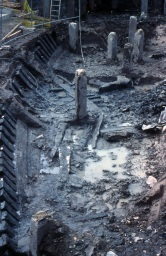The Ship during the Early Stages of Excavation