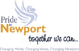 Pride in Newport logo