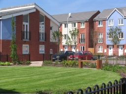 Image of council housing in Newport