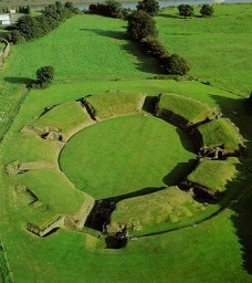 Image of the Roman Amphitheatre at Caerleon