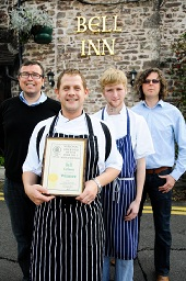 Award at the Bell Inn
