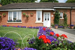 A Newport Housing Trust bungalow.