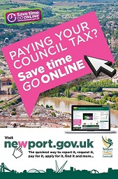 Save time, pay council tax online image