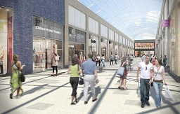 Artist's impression of Friars Walk