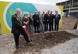 Construction work begins at Friars Walk